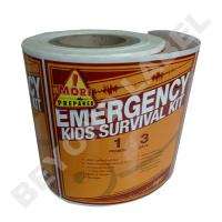 Kids Survival Kits Product Label
