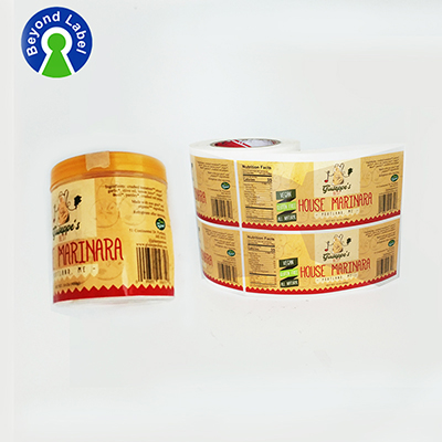 high quality spices label printing